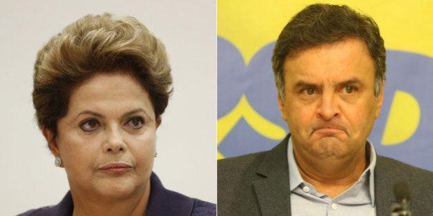 Dilma x Aécio: baixaria já corre solta no duelo dos perfis não