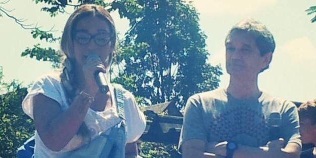 Valesca Popozuda faz alegria de alunos da escola onde foi chamada de 'grande