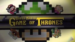 Este Mashup de Game Of Thrones e Super Mario World vai explodir sua