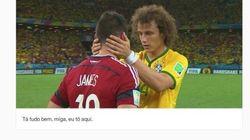 David Luiz Carinhoso: Tumblr brinca com a compaixão do jogador