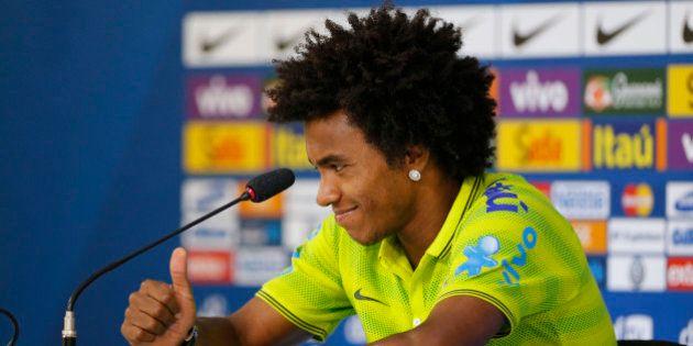 Brasil x Alemanha: Willian deve ser o substituto de