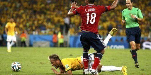 Fifa decide não punir autor de joelhada que tirou Neymar do