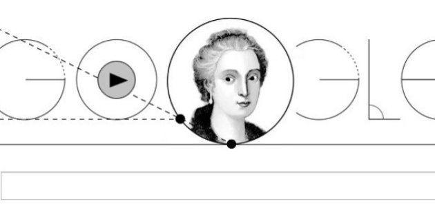 Google faz homenagem à matemática Maria Gaetana Agnesi com Doodle