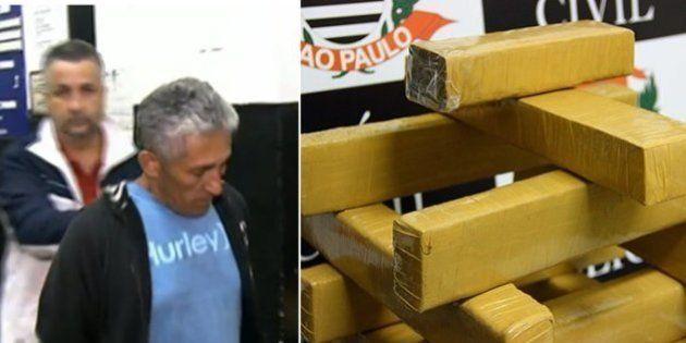 'Velhinho do Mato', idoso suspeito de tráfico é preso com 15 quilos de