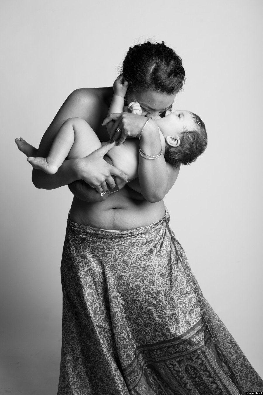 O que 9 meses de gravidez realmente fazem com o corpo de uma mulher