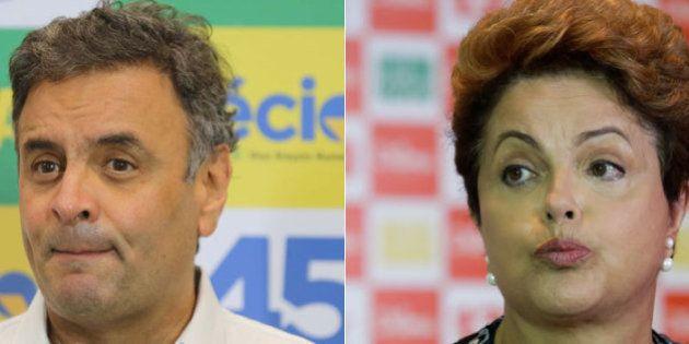 Ibope: Aécio Neves e Dilma Rousseff mantêm disputa acirrada e seguem empatados no 2º