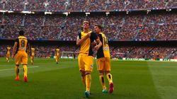 Uma emocionante vitória para o Atlético de Madri neste sábado