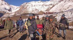 Número de desaparecidos após avalanches no Nepal pode chegar a