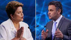 Dilma Rousseff e Aécio Neves se enfrentam em debate do SBT nesta