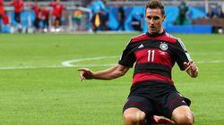Ronaldo chora duas vezes mais por causa de Klose: ele é o novo artilheiro das