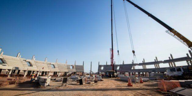 Rio 2016: obras do Parque Olímpico da Barra avançam