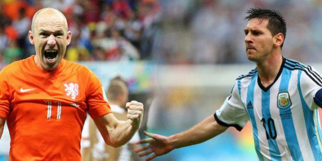 Semifinal da Copa 2014: Holanda x Argentina, um jogo sem