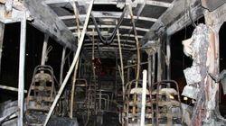 FOTOS: Após derrota do Brasil, mais de 20 ônibus queimados e comércio saqueado em