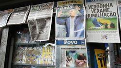 Humilhação mundial: veja o 7 x 1 nas capas dos jornais
