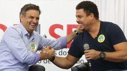Ronaldo tenta defender Aécio Neves no Twitter e vira motivo de