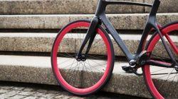 Uma bicicleta que vai cuidar de