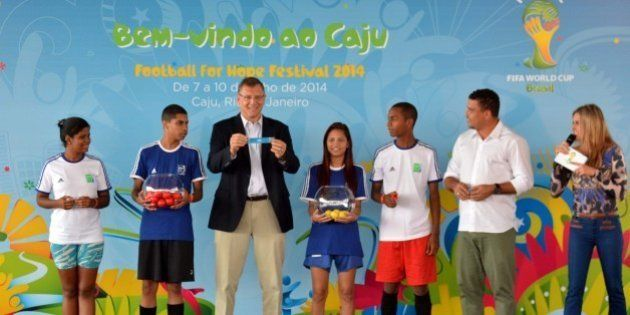 Festival Football for Hope 2014, da Fifa, é lançado no Rio de
