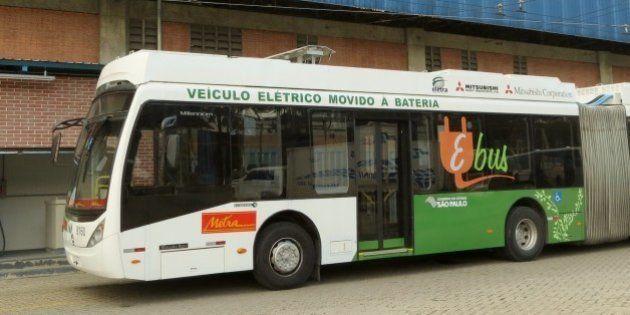 Fabricante de ônibus elétrico concorre a prêmio de