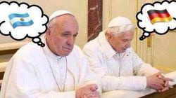 Bento XVI ou Francisco. Se existe intervenção divina no futebol, qual reza será a mais