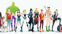 Super Rockers! Veja seus heróis favoritos em divertida versão