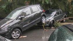 Caos em SP: carros arrastados e ruas alagadas após temporal