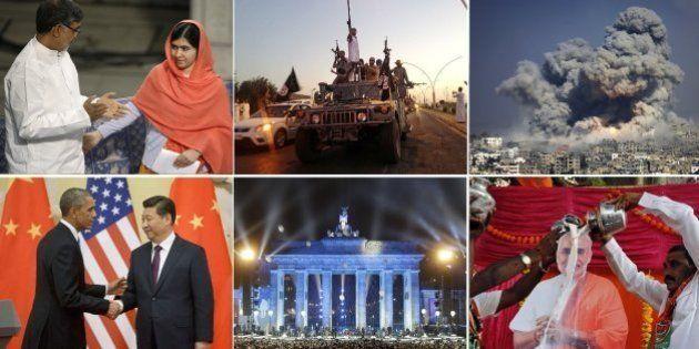 Retrospectiva do mundo em 2014: O ano só acaba quando