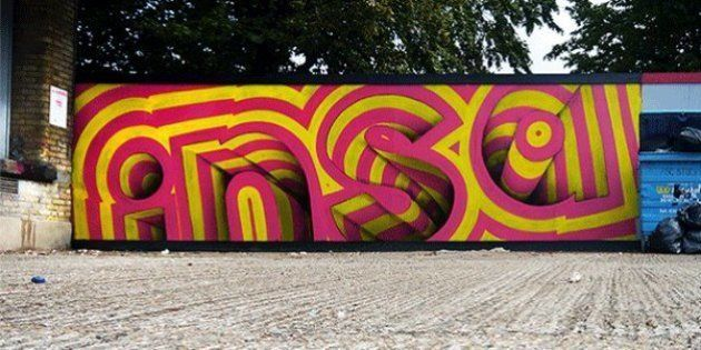 Conheça o trabalho de INSA, artista que transformou grafitagem em GIF