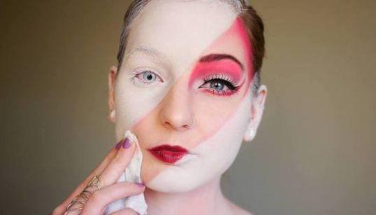IN-CRÍ-VEL: esta garota conseguiu transformar maquiagem em