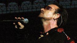 Bono Vox: óculos escuros não são vaidade, mas