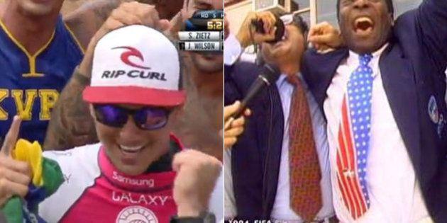 #MedinaCampeao: Brasileiros comemoram título inédito de Gabriel Medina no Mundial de Surfe no