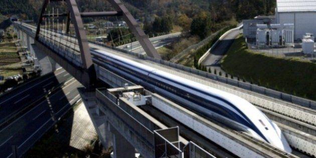 Japão irá construir o trem mais rápido do mundo que pode atingir quase 500