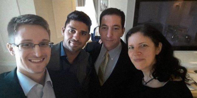 Snowden aparece em selfie com