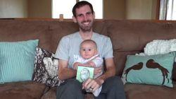 ASSISTA: antes de morrer, pai grava mensagem de despedida para a filha