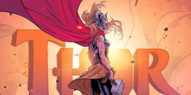 Quadrinhos de Thor mulher vendem mais que versão masculina da