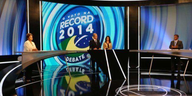 Nível sobe no #DebateNaRecord com debate de assuntos econômicos no primeiro bloco e mais uma guerra de