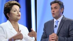 Discussão de gente grande, quem diria?! Aécio e Dilma debatem segurança de forma