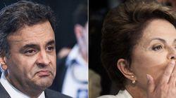 Debate na Record: Medo dos indecisos faz Aécio e Dilma abdicarem da
