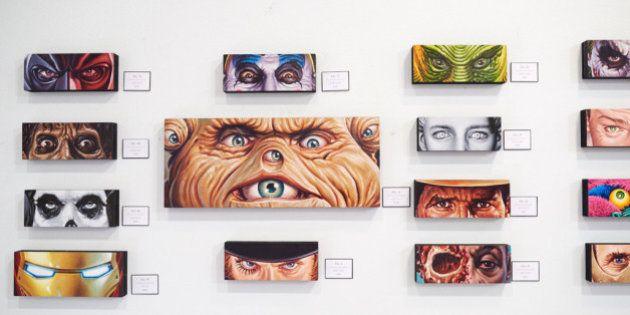 Olhares de ícones da cultura pop são reunidos em exposição com 150