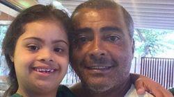 Romário: 'Minha filha me deu um novo sentido para