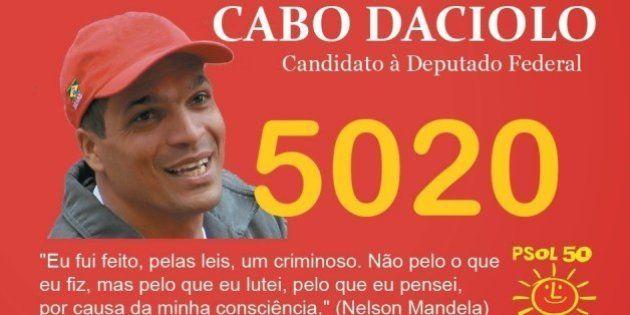 PSol pediu a expulsão do deputado federal Cabo Daciolo que defendeu os policiais acusados de matar o...