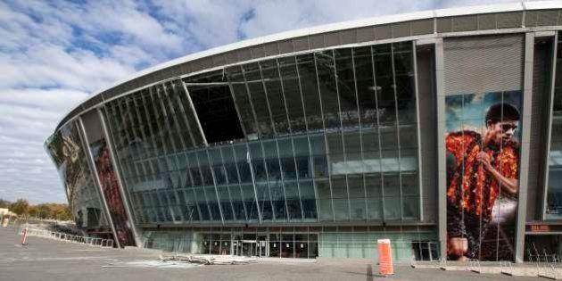 Estádio do Shakhtar Donetsk é danificado por disparos na
