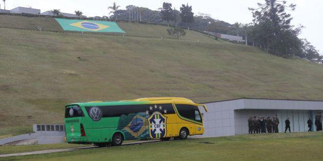 Copa 2014: Felipão já está na Granja Comary, casa da Seleção no