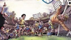 Este livro une futebol e quadrinhos de um jeito poucas vezes