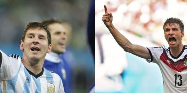 Alemanha e Argentina decidem neste domingo a final da Copa do Mundo