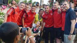 ASSISTA: Alemanha agradece o Brasil na véspera da final. Menos a ex de