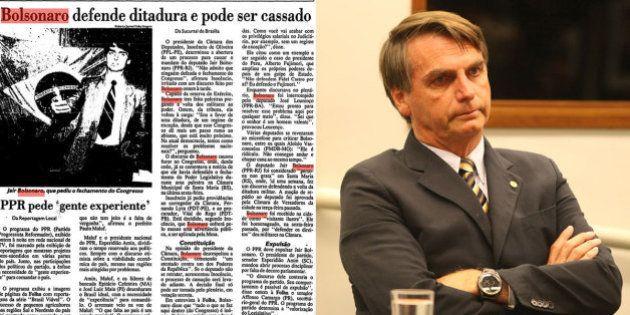 #ForaBolsonaro: Página no Tumblr reúne matérias da Folha para mostrar a carreira 'curiosa' de Jair Bolsonaro...