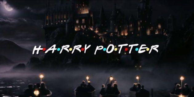 Harry Potter e Friends são o mashup mais divertido de todos os tempos