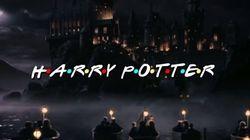 ASSISTA: Fã faz mashup de Harry Potter e Friends e resultado é