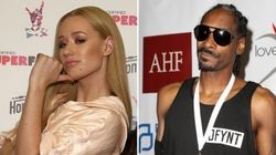 No mundo do rap, Iggy Azalea foi a personalidade do ano. Já Snoop Dogg não foi tão bem