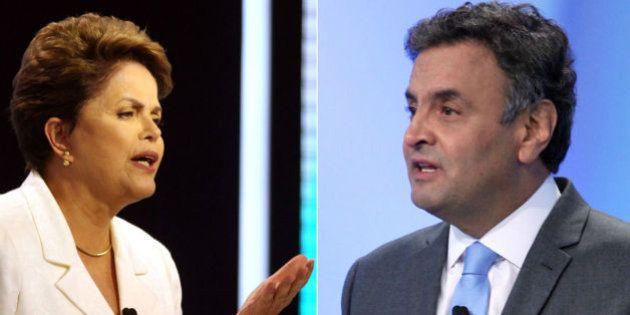 Dilma ataca gestão do PSDB na falta de água em São Paulo: 'Um modelo que o candidato Aécio não só defende,...